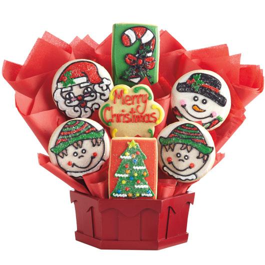 gf christmas cookies basket