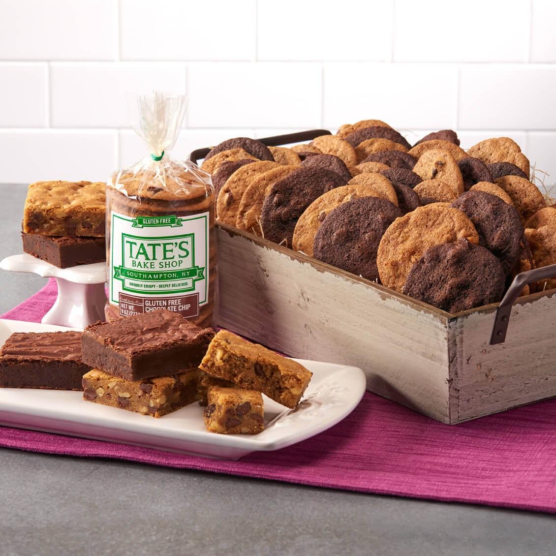 tate's bake shop large gluten free gift basket