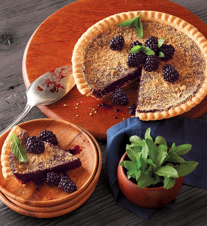 gluten free marionberry pie harry & david