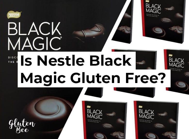 Is Nestle Black Magic Gluten Free?