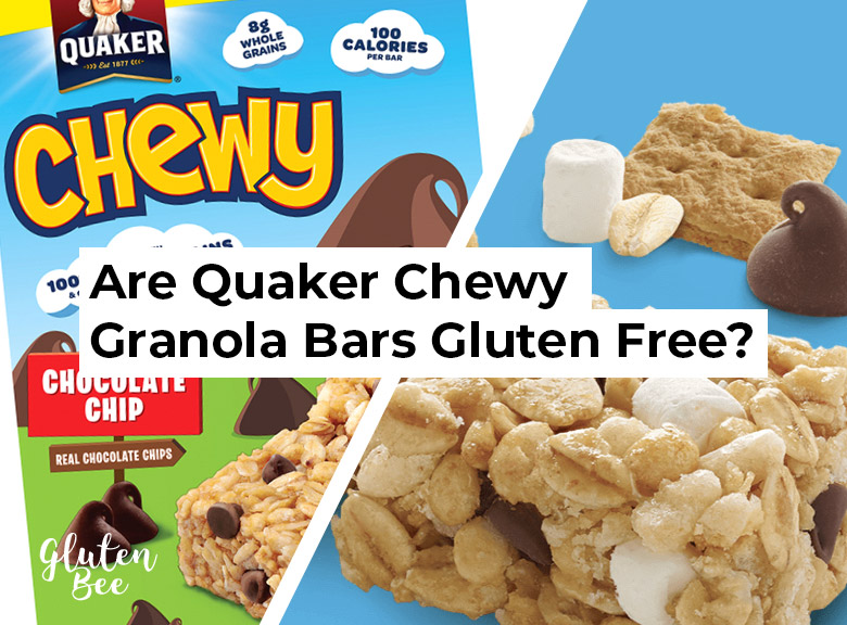 Are Quaker Chewy Granola Bars Gluten Free?