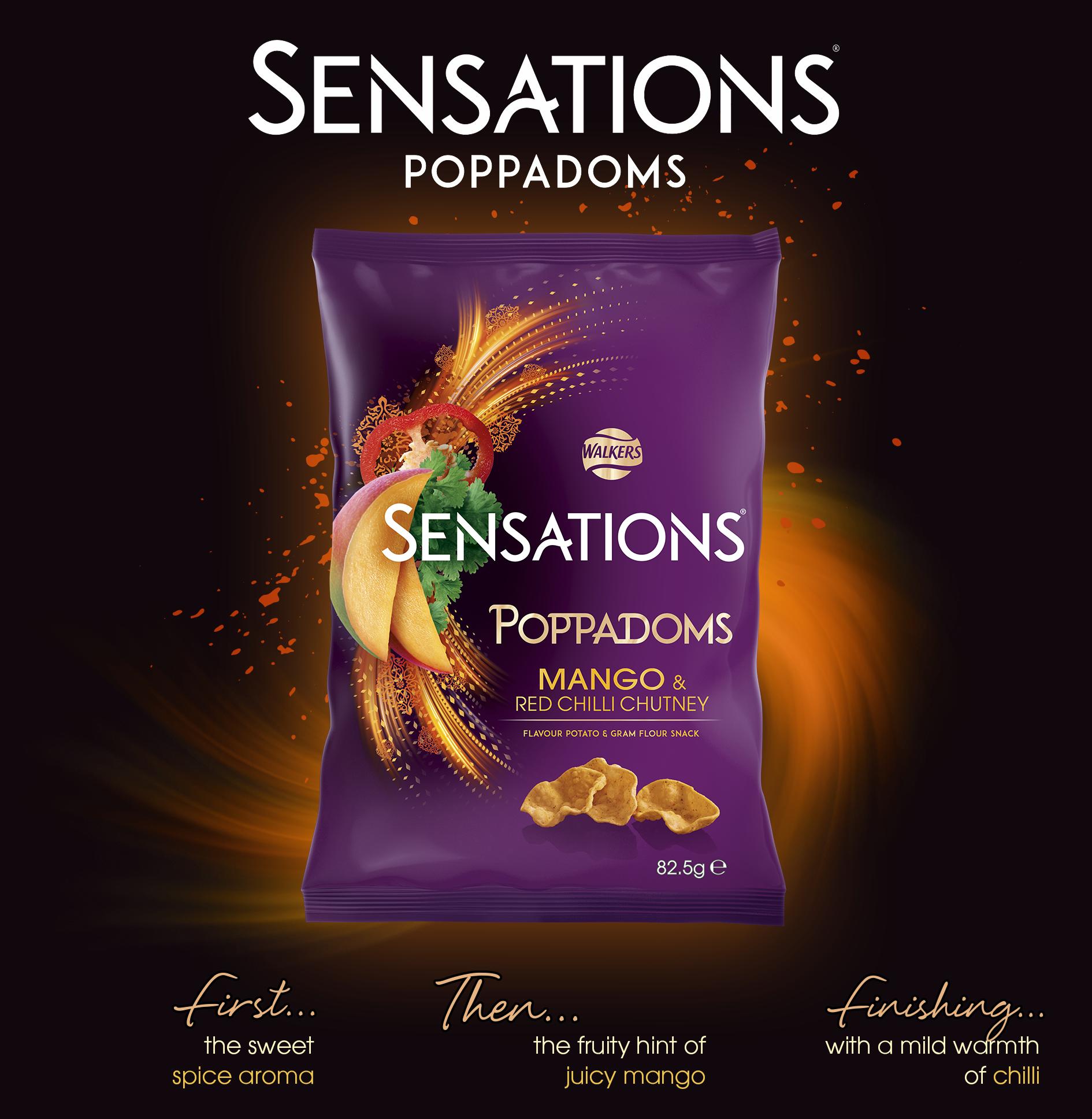 sensations poppadoms
