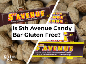 Is 5th Avenue Candy Bar Gluten Free?