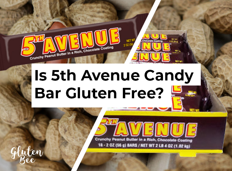 Is 5th Avenue Candy Bar Gluten Free?