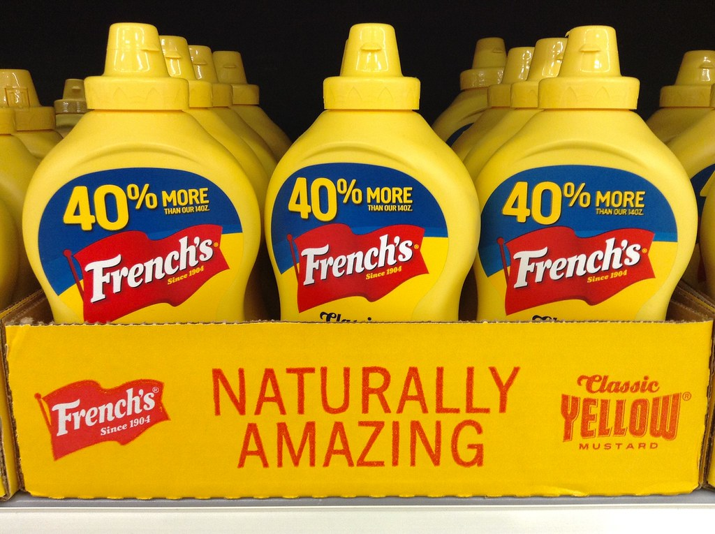 french's yellow mustard case