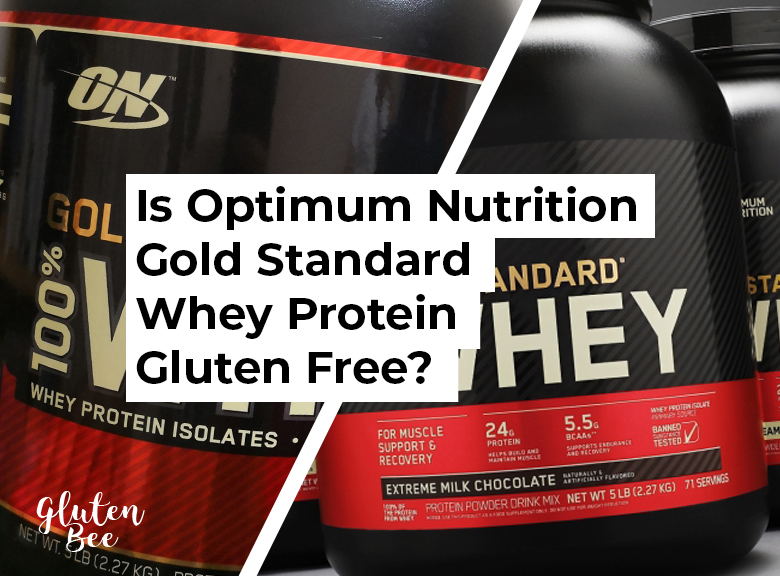 Is Optimum Nutrition Gold Standard Whey Protein Gluten Free?