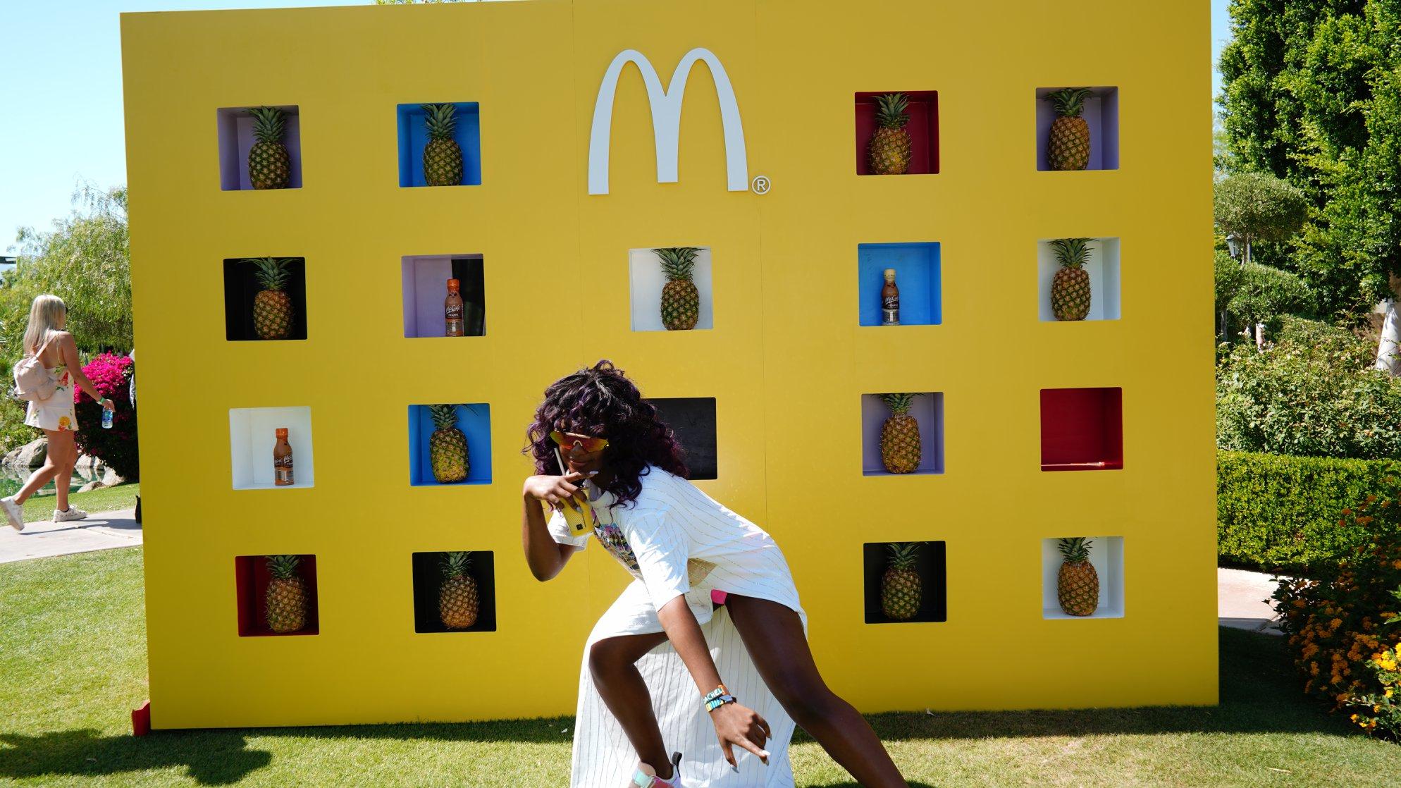 mcdonalds brand event