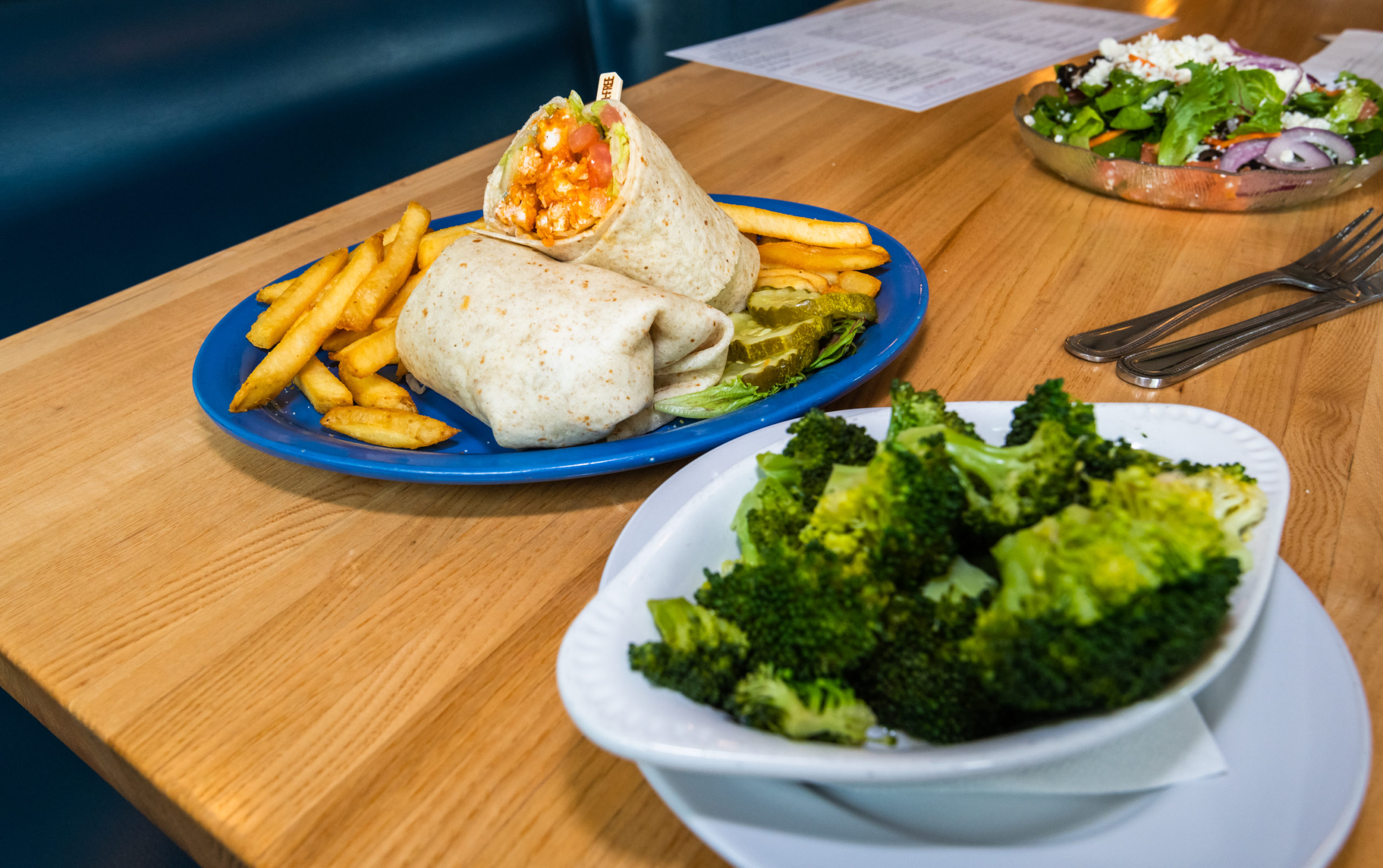 full gluten free meal, the cabin restaurant middleboro