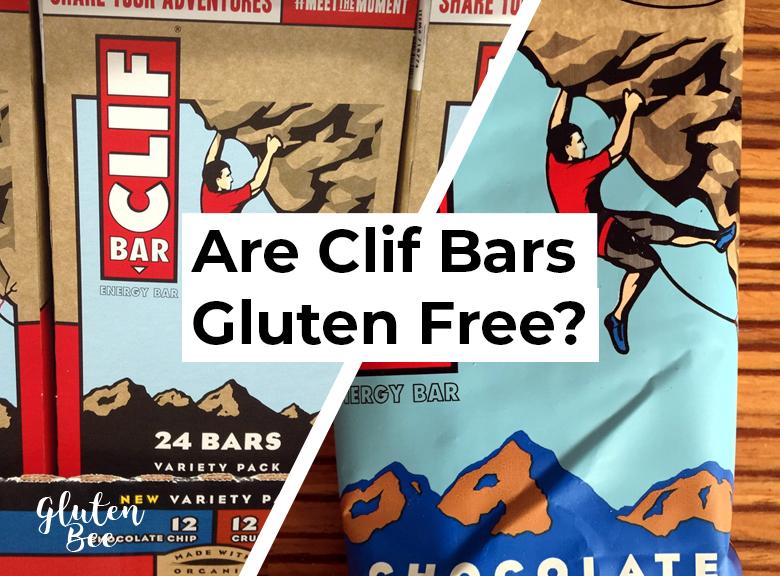 Are Clif Bars Gluten Free?