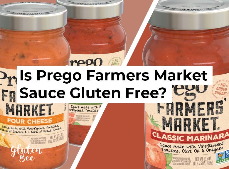 Is Prego Farmers Market Sauce Gluten Free?