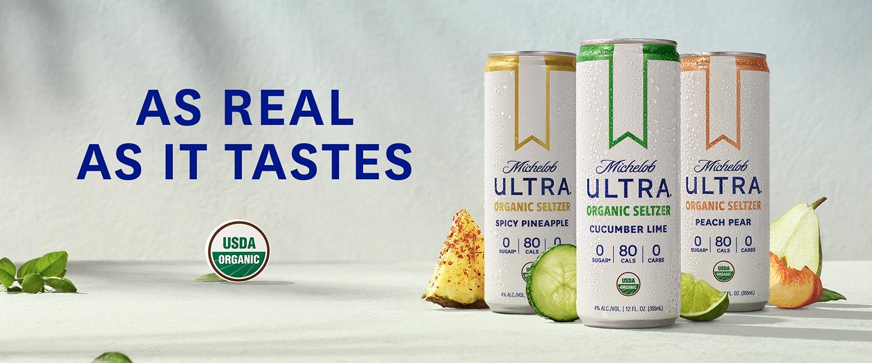Michelob ULTRA Organic Seltzer new