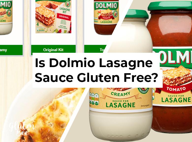 Is Dolmio Lasagne Sauce Gluten Free?