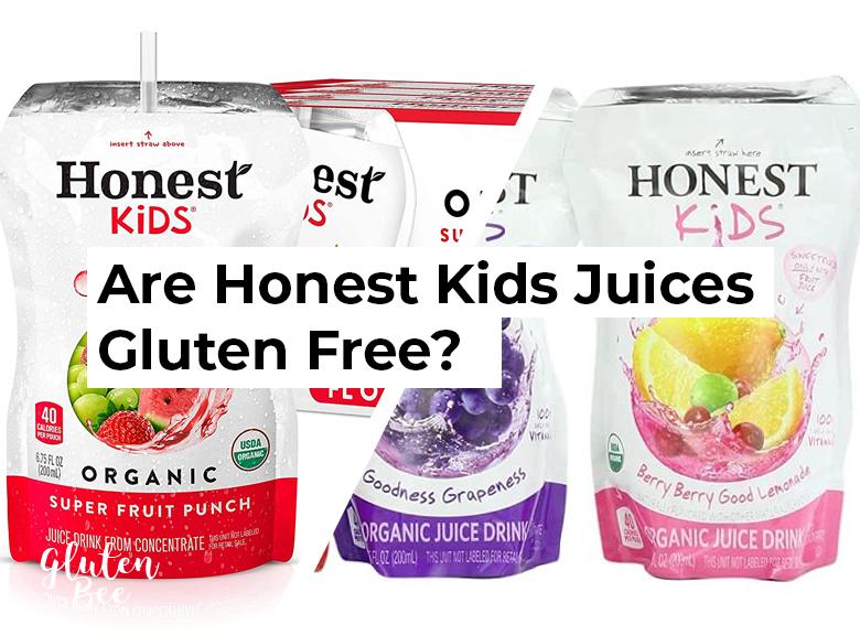 Are Honest Kids Juices Gluten Free?