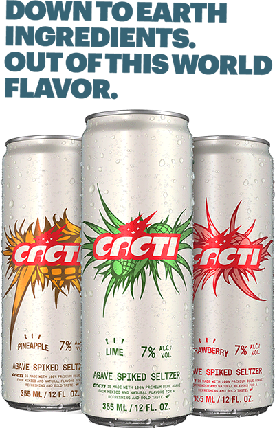 cacti spiked seltzer