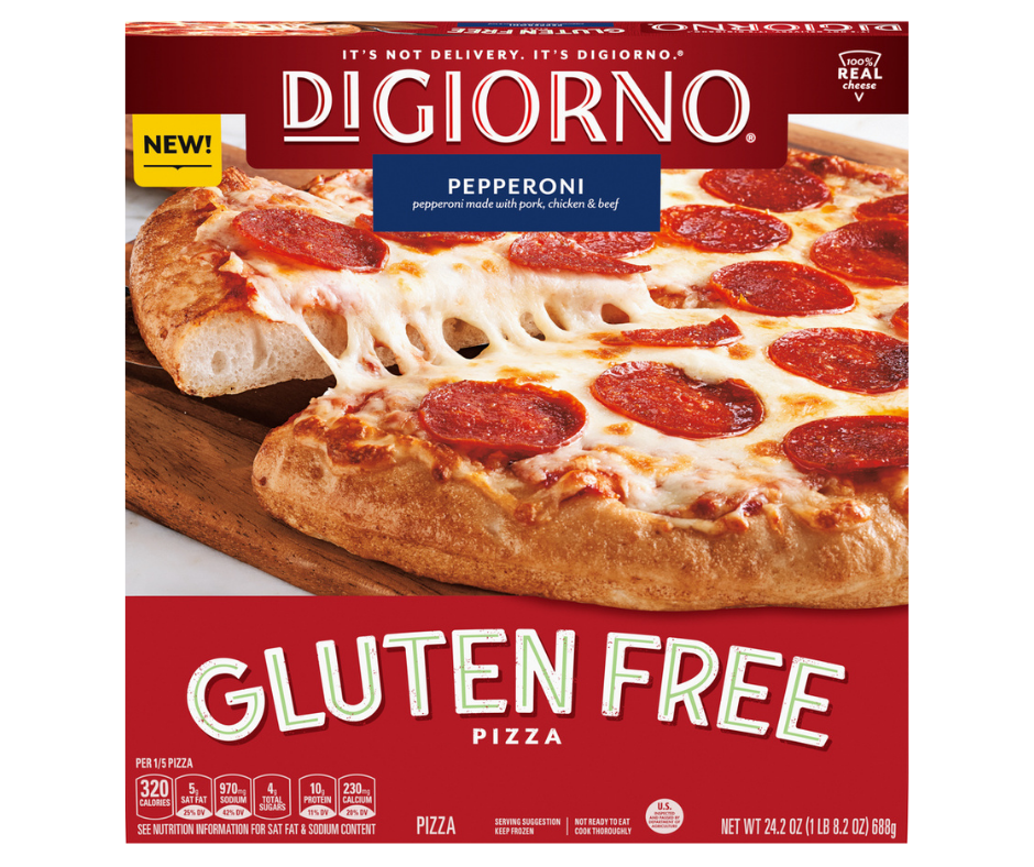 DiGiorno's Is Launching a Gluten Free Crust Pizza Soon