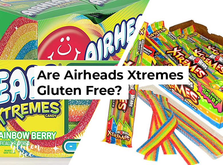 Are Airheads Xtremes Gluten Free?