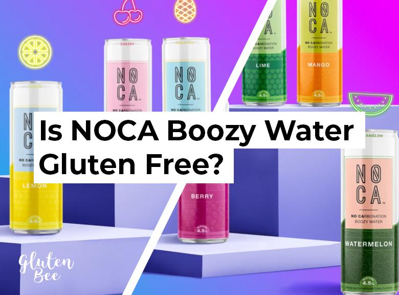 Is NOCA Boozy Water Gluten Free?
