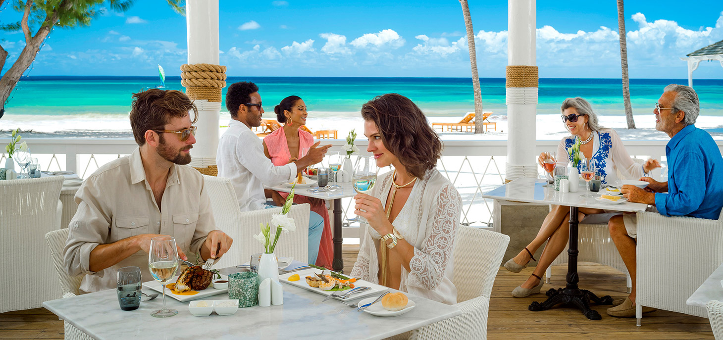 sandals dining options