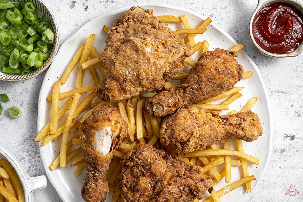 gluten free buttermilk fried chicken