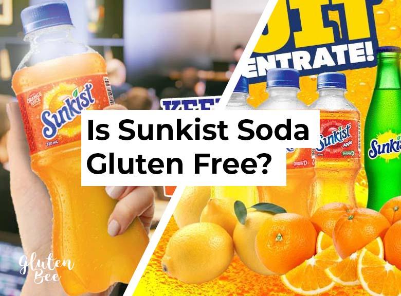 Is Sunkist Soda Gluten Free?